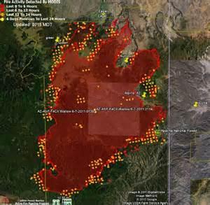 current arizona wildfires map wallow burns through greer arizona wildfire today