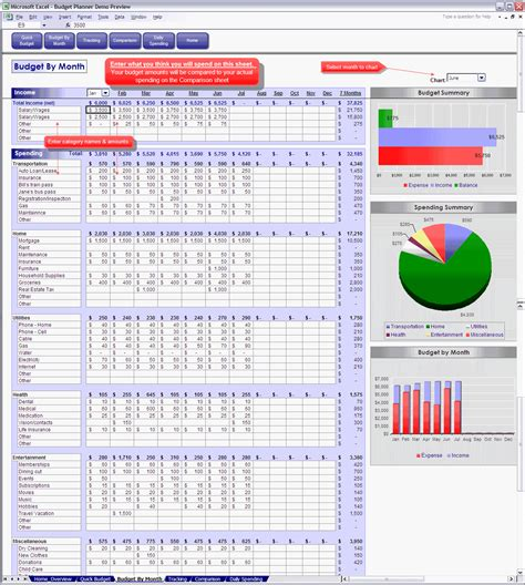 excel spreadsheet template for budget excel template budget monthly driverlayer search engine