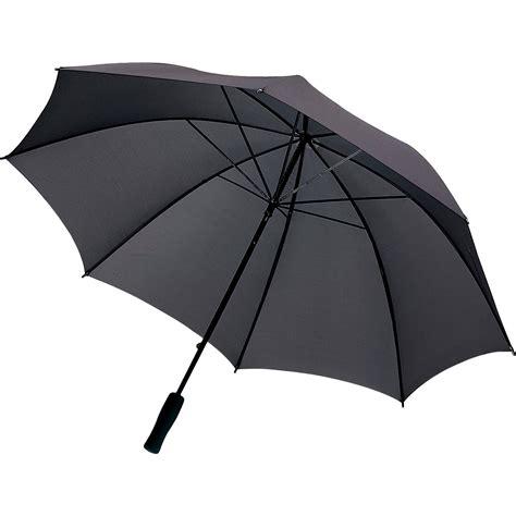 black umbrella black storm umbrella foremost products uk