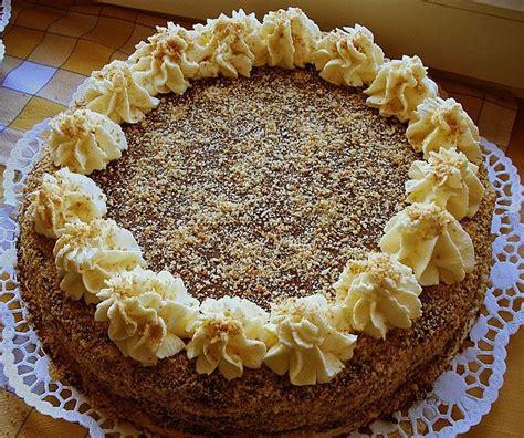 besten kuchen besten kuchen hunyadi torte torten