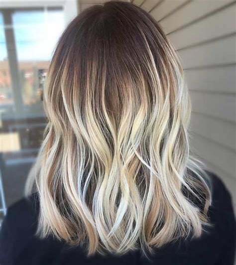 balayage on medium length hair 18 balayage hair ideas that will suit every one the