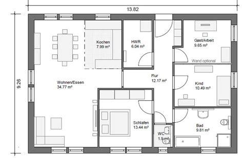 bungalow 4 schlafzimmer grundriss bungalow grundrisse 4 zimmer ihr traumhaus ideen