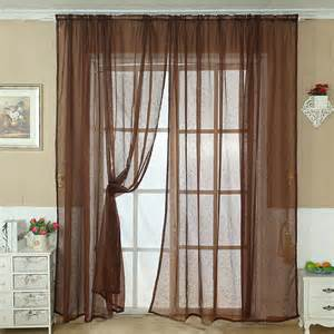 scarf valance hardware solid color tulle door window curtain drape panel sheer