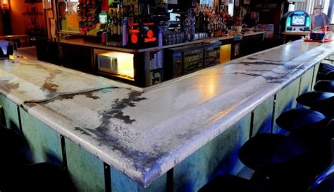 Creative Bar Tops Creative Uses For Concrete Bloomfield Mi
