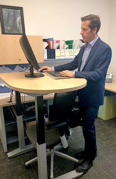 Standing Desk Research by A Day In The Lab Tendon Research Vch Research Institute