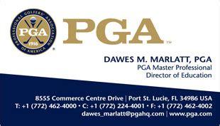 Pga Business Cards business card translation sles exles