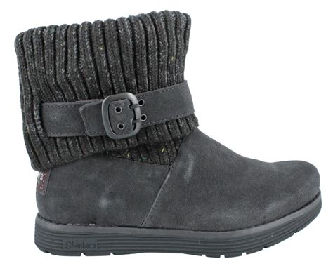 skechers adorbs boots womens ankle boots low heel