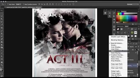 movie poster layout photoshop how to make a film poster in photoshop in minutes with no