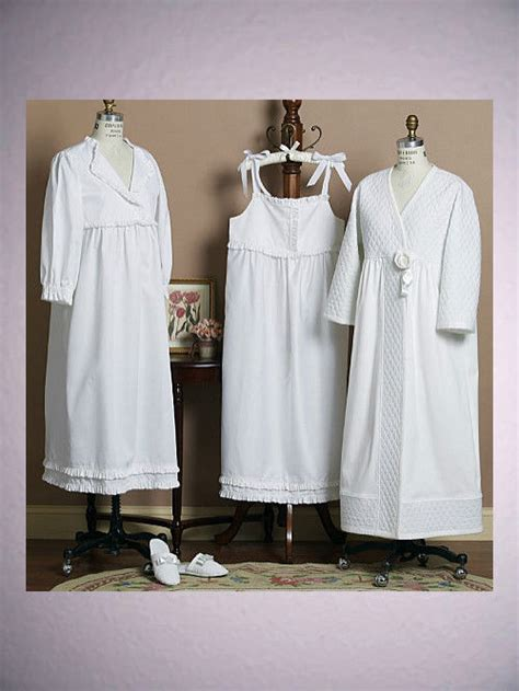 sewing pattern victorian nightgown pattern butterick nightgowns robe slippers sewing 5544 xs