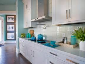 blue coastal kitchen with white cabinetry this backsplash design pictures ideas amp tips from hgtv