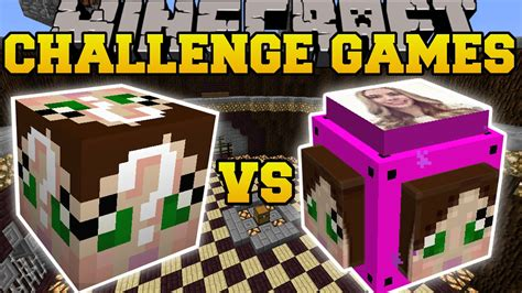 minecraft lucky block mod game online minecraft gamingwithjen vs gamingwithjen challenge games