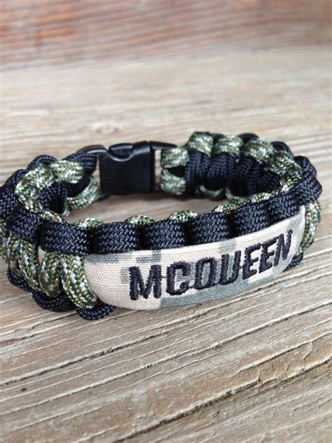 Handmade Paracord Bracelets - custom paracord bracelet with name army air