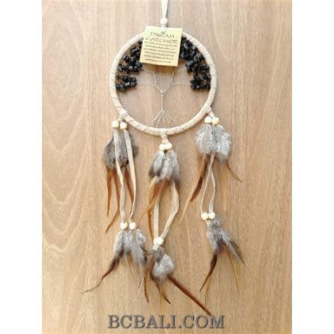 Catcher Suede 12cm Termurah bead catcher feather leather suede design bead catcher