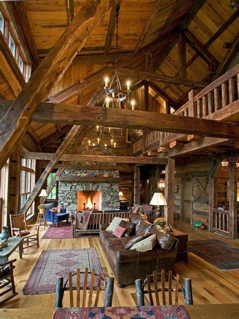 Home Source Interiors by Log House Interiors 1 Woodz