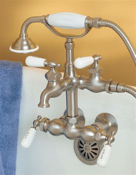 faucet  clawfoot tub  shower attachment faucets  clawfoot bathtubs