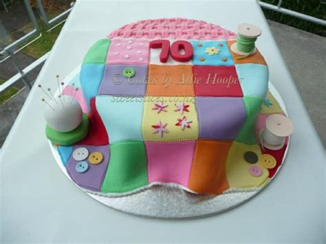 Patchwork Cakes - patchwork quilt cake cakes by hooper