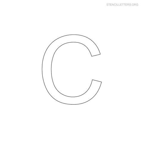 free printable stencil letter c stencil letters c printable free c stencils stencil