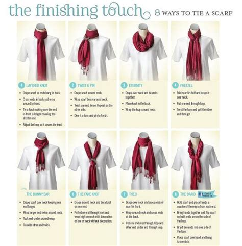 printable instructions to tie a scarf cj banks looking for a fun way to wear your new fall scarf