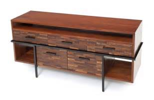 mid century modern entertainment center rustic chic sideboard