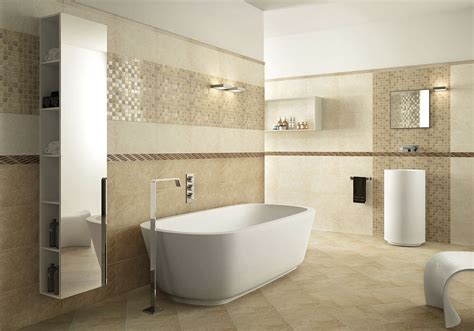 Ceramic Tile Ideas For Bathrooms by Enhance Your Bathroom Style With Bathroom Tile Ideas
