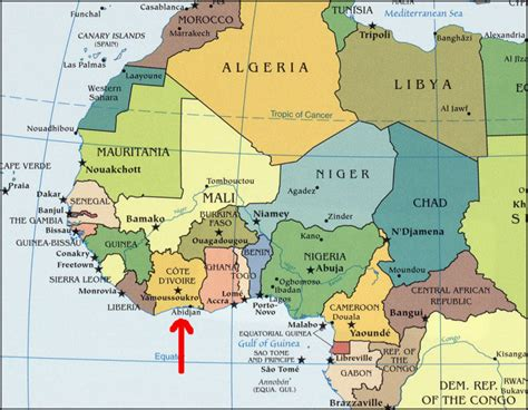 ivory coast on the map international student story bonjour from ivory coast