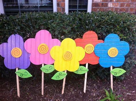 flowers yard yard decoration yard easter