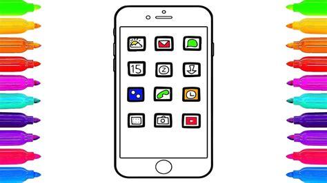 imagenes cool para telefonos como dibujar de tel 233 fono celular de arco iris dibujos
