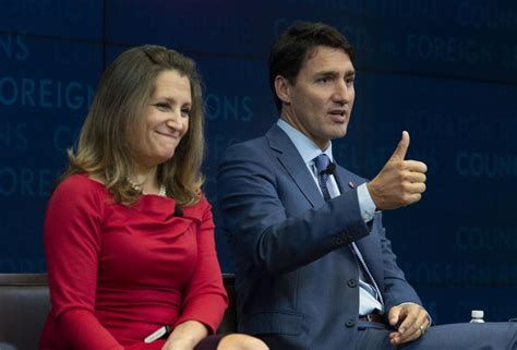 justin trudeau can t take any more foreign trudeau will benefit on nafta regardless of outcome the