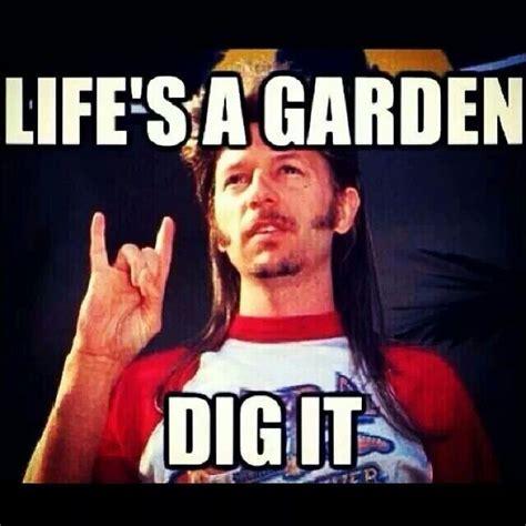 Joe Dirt Memes - life s a garden dig it joe dirt