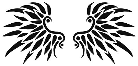 tattoo png format image black wings tattoo design 01 by xarachnofreakx