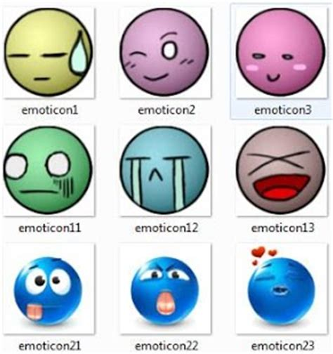 gambar emoticon lucu clipart best