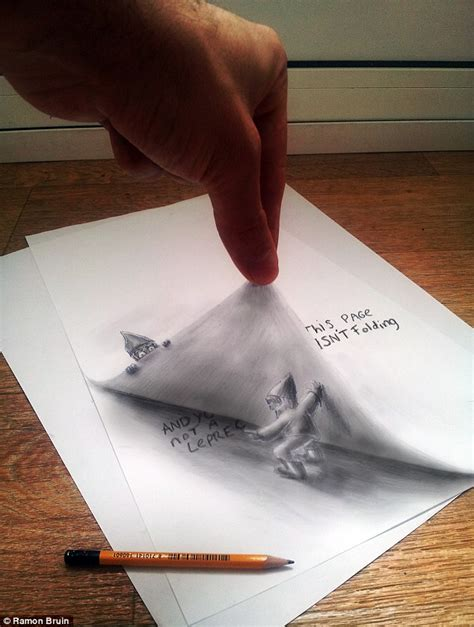 How To Make 3d Drawings On Paper - you won t believe your artist creates amazing 3d