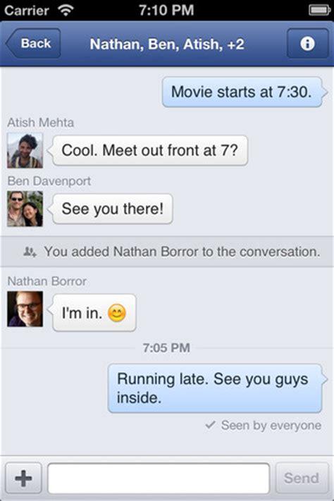 facebook、「iphone 5」に対応しスレッドデザインを刷新したiphone向けアプリ「facebook