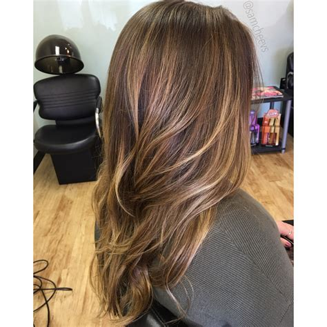 Type Of Brown Hair by Caramel Highlights For Hair Balayage For Brown