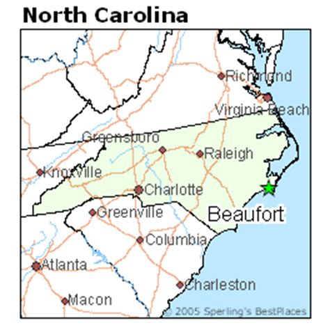 best places to live in beaufort, north carolina