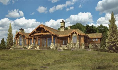 unique log home plans simple log cabins log cabin ranch style home plans custom