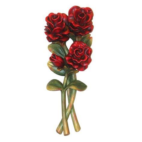 mazzo di fiori colorato mazzo di fiori vendita scultura in legno 22 cm