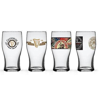 bicchieri guinness set bicchieri guinness originale acquista in offerta
