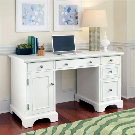 white pedestal desk home styles naples pedestal desk white desks at hayneedle