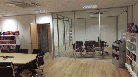 Mc Interiors by Salford Tenon Flex Office Refurbishment Warrington Mc