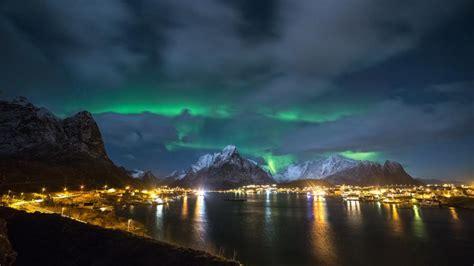Coast Lights by Lofoten Islands Northern Lights Coast