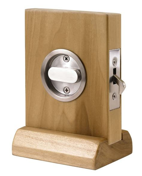 linnea modern style pocket door lock