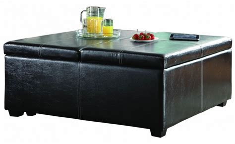 storage ottoman on casters synergy lift top storage cocktail ottoman on casters from