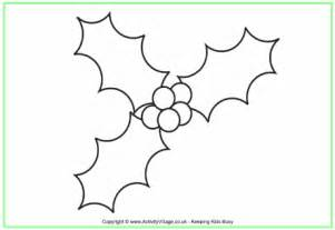 holly tree coloring page holly colouring page