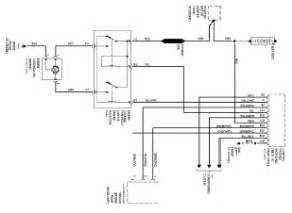 volvo 960 850 engine cooling fan circuit and schematic diagram 1994