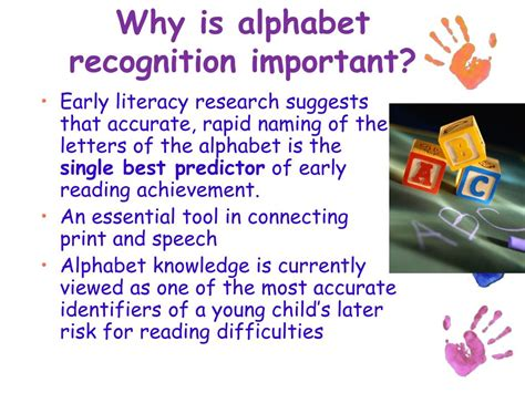 Why Offer Letters Are Important Ppt The Pals Pre K Assessment Make It Work Harder For You Powerpoint Presentation Id 23944