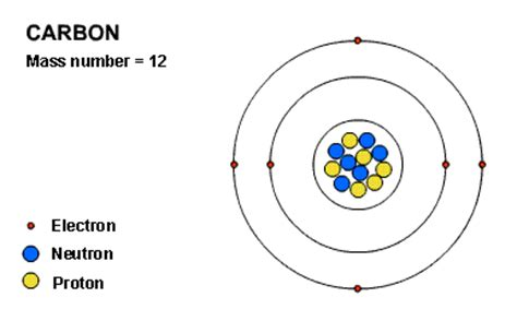 Carbon Protons Neutrons And Electrons by Protons Neutrons And Electrons Carbon Www Pixshark