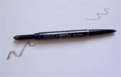 Maybelline Pensil Alis review pensil alis maybelline fashion brow duo shaper