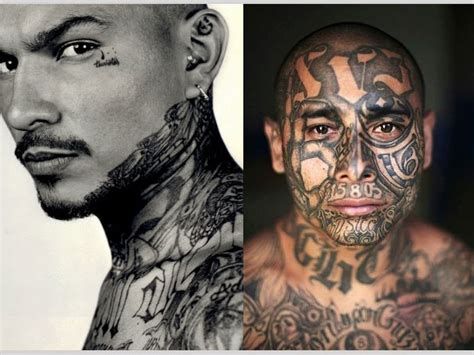 mexican gang tattoos 25 cool mexican mafia tattoos slodive