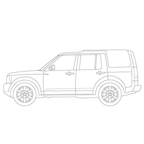 land rover discovery drawing disco3 3d model formfonts 3d models textures